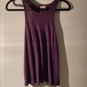 Free People Purple Tank Top